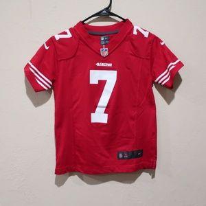 3c502d7d6c1 Nike Shirts   Tops - Nike 49ers Colin Kaepernick Youth sz 8 Jersey